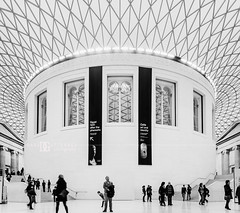 """Enclosed"" British Museum, London, UK (davidgutierrez.co.uk) Tags: london architecture art city blackandwhite davidgutierrezphotography nikond810 nikon interior londonunderground urban travel blackwhite photography people londonphotographer property uk photographer monochrome stairs bw black white blackandwhitephotography arts abstract tube unitedkingdom afsnikkor1424mmf28ged 1424mm 伦敦 londyn ロンドン 런던 лондон londres londra england europe beautiful cityscape davidgutierrez capital structure britain greatbritain centrallondon ultrawideangle d810 buildings lights light design tubestation symmetry building lambeth interiors indoor britishmuseum museum landmark touristattraction greatcourt roof glass person glassroof history culture greyscale grayscale"