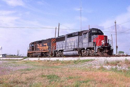 1998 07 05   7  UP (DRG)3142, (SP)9611, Freeport, TX (Custom)