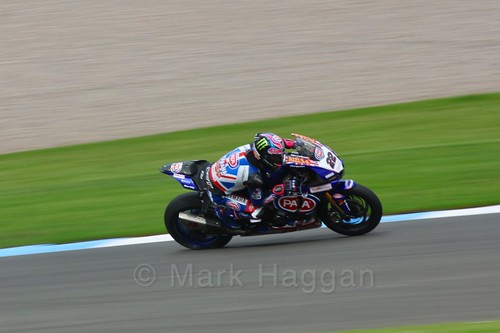 Alex Lowes in World Superbikes at Donington Park, May 2017