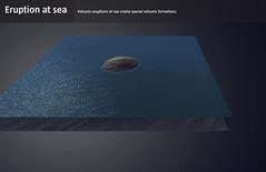 Eruption at sea (Gagarin Interactive) Tags: lavacentre eruptions gagarin basalt interactive exhibiton iceland hvolsvollur volcanic monitoring fissure caldera