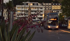 Stagecoach South-West. WA61 KMG. 15796. (Drive-By Photography - (2M Views!!)) Tags: stagecoach wa61kmg 15796 scania n230ud enviro400 bus psv harbourside harbour devon dusk