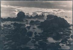 Tenerife - View from San Juan (patrickvandenbranden) Tags: 18x24 tenerife alternativeprocess aquarelle contactprinting cyanotype darkroom fineart landscape ocean procédéalternatif rocks toned water