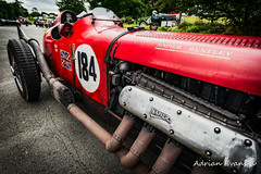 Red Bentley (Adrian Evans Photography) Tags: bentley redcar flag engine race exhaust spokes 8litre red vintagecar unionjack vintage vehicle uk motor napierbentley british racingcar cars sportscar tyres cockpit outdoor car