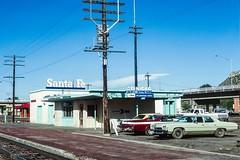 Santa Fe Station at Trinidad, Colorado (douglilly) Tags: santafe atsf amtrak station trinidad