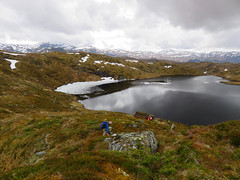 Sunday hike (Mrs.Snowman) Tags: hiking spring hills cloudy syvde bjørnen norway westernnorway