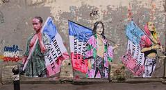 IMG_8364 COMBO (WORLD OF FMR) Tags: vitry streetart street art canon colors wall paste collage combo libert egalite fraternite
