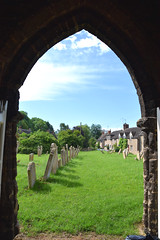 view from the south porch (Simon_K) Tags: polebrook northamptonshire northants church churches nikon d5300