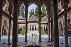 Patio de los Leones (Juan Antonio Aguilar) Tags: arquitectura belleza simetria patrimonio de la humanidad unesco