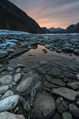 Gessi (Michele Fornaciari) Tags: parconazionaleappenninotoscoemiliano paesaggio panorama inverno tramonto sunset dusk rocce river fiume secchia reggioemilia