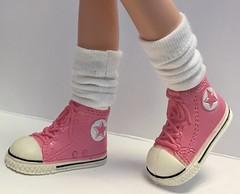 Tall White Socks...For Blythe...