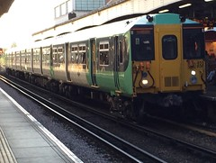 455836 Wimbledon 14/06/17 (Zubin M Transport Photography) Tags: wimbledon 836 455 455836 class455 southern