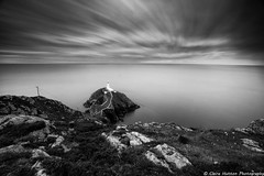 (Claire*Marsh) Tags: southstack lighthouse anglesey north wales island steps sea water smooth milky blackandwhite mono monochrome clouds moving movement motion le longexposure nd110 10stop 10stopper ndfilter neutraldensity filter leefilters ndgrads landscape seascape natural sonya6000 wideangle lens