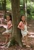 115 (boeddhaken) Tags: trick trickphotography forest tree leaning girl beautifulgirl cutegirl
