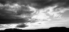 Sleeping Giants (IggyRox) Tags: iceland island scandinavia europe north highlands kjolur arnessysla nature beauty film 35mm mountains sky clouds hike blackandwhite monochrome hrutfell kjafell dusk night view kjalhraun light
