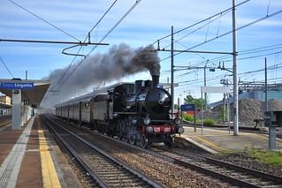 Gr 625.100 Treno Storino Torino Porta Nuova - Saluzzo - Verzuolo