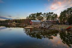 Vanhaniemi (Jyrki Salmi) Tags: jyrki salmi vanhaniemi pyhtää finland evening reflection water sea