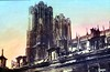the great towers of rheims cathedral after bombardment (foundin_a_attic) Tags: great towers rheims cathedral after bombardment war europe