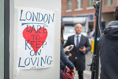 Dare to keep on loving (Mister Rad) Tags: nikond600 nikon50mmf14g london southwark borough love resilience boroughhighstreet media