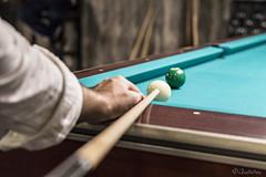 Billiards' Time (filippos.pantazis) Tags: 2017 billiard doha qatar night game play green table ball 50mmf14dghsm