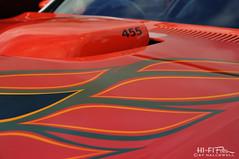455 TA (Hi-Fi Fotos) Tags: pontiac transam 455 bigblock hood scoop decal ta orange vintage american classiccar nikon d5000 hififotos hallewell