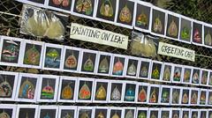 IMG_44753 (Manveer Jarosz) Tags: bharat bombay ganapati ganesha ganpati hindustan india mumbai art display leaf leaves painting sale shop street