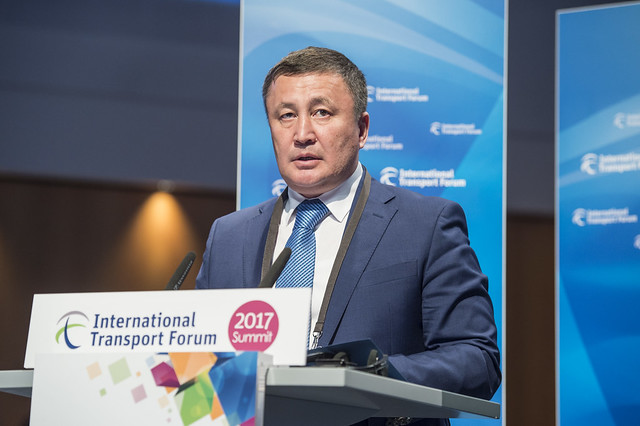 Zamir Saginov addressing the Closed Ministerial