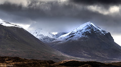 Snow on the peaks, clouds in the sky (lawrencecornell25) Tags: skye scenery scotland isleofskye landscape mountains marsco cuillins outdoors nature winter snow nikond5