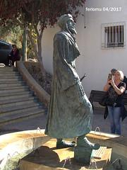 Almería 15a Jairan al Amiri Primer rey de Almería (ferlomu) Tags: almeria andalucia escultura estatua ferlomu