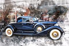 classic car_3074_7SCW (JGKphotos) Tags: watercolor 7styles topaz topazsoftware topazstudio