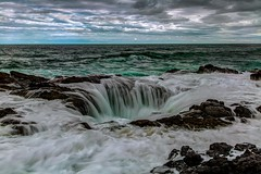 Thor's Well (Cole Chase Photography) Tags: oregon pacificnorthwest hightide morning capeperpetua thorswell pacificocean
