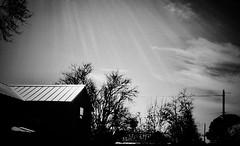 [  -  painted black  -  ] (Tremor Saint) Tags: hot antitag tag density flux black electromagneticspectrum scattering diffuse euv atmosphere filter ir uv visible radiation electromagnetic heliophysics popculture buytheskyandselltheskyandbleedtheskyandtelltheskydontfallonme illumination air particles dust nm wavelengths light sunlight chargedparticles solarminimum g2v star solar sun rays crepuscular sky paintedblack melancholia mourning misery heat texassmalltown vacuity callousness besieged siege kickingagainstthepricks nonedarecallitarchitecture lines simple house paintitblack oops texashouseblackpaintitblackgriefmourningmelancholialinespolestreepaintedblack