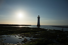 lighthouse (Lee1885) Tags: lighthouse newbrighton wirral sky sea sand fishing fisherman rocks