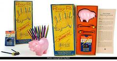 Porky Pig magnetic Pick-up Stix (toytent) Tags: vintagegame vintagetoy pickupsticks magnetic pickupstix novelnovelties toytentcom