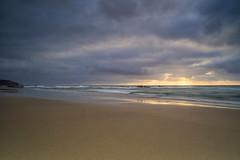 Last Lights (michel1276) Tags: fuerteventura landschaft langzeitbelichtung lapared beach strand wasser water wellen wolken clouds carlzeissjena flektogon2040 meer sand ozean ocean küste himmel sky