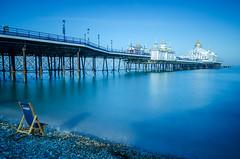 Eastbourne Pier (KVH-P) Tags: 2017 sigma1020mm water wideangle england eastsussex eastbourne eastbournepier reflection travelphotography uk uklandscape ukseascape nikond7000 pier sea seascapes slowshutterspeed sussex d7000 gitzotripod sky leefilters coast bigstopper beach deckchair beacheslandscapes pebbles golddomes sunshinecoast greatphotgraphers