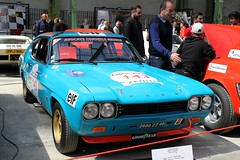 #143 Ford Capri 2600 RS 1973 (seb !!!) Tags: 2017 auto automobile automovel automovil automobil canon 1100d cars course sportive anciennes ancienne old oldtimers populaire paris seb france voiture wagen car tour optic 2000 grand palais race racing competition photo picture foto image bild imagen imagem classique classic klassic chrome