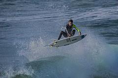 Surfing (Geoffsnaps) Tags: nikond810 nikon d810 fx nikonnikkor200500mmf56eedvrafs lens telephoto nikkor 200500mm f56e ed vr afs surfing flying ocean water portmacquarie newsouthwales