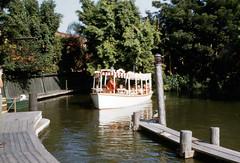 Jungle Cruise arriving at dock (Tom Simpson) Tags: junglecruise boat disney disneyland vintage 1960s adventureland thejunglecruise vintagedisney vintagedisneyland
