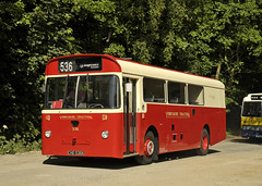 CHE536K Yorkshire Traction 536 (martin 65) Tags: public preserved preservation peak park road rally rowsley derbyshire gathering 2017 18617 transport bus buses vehicle vintage leyland olympian stagecoach leopard bristol red warrington yorkshire east lincolnshire