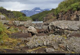 Barnafoss, Hvítá River, Iceland