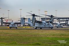 US Marines V-22 Osprey 07 YSSY-8396 (A u s s i e P o m m) Tags: v22 osprey v22osprey usmarines sydneyairport syd yssy mascot newsouthwales australia au