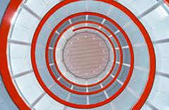 The Spiral (Michael Echteld) Tags: sonyalpha sonyimages a7ii architecture buildings captureonepro city clean curves fullframe ilce7m2 leiden lines michaelaechteld michaelechteld michaelechteldphotography mirrorless perspective phaseone modernarchitecture sigma1224 sony sonya7ii sonyalpha7ii tripod ultrawide ultrawideangle wwwechteldnet parking carpark parkinglot underground spiral lookingup orange netherlands