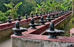 NEPAL, In Pokhara, Ballustrade  in einem alten Tempel, 16144/8438 (roba66) Tags: reisen travel explore voyages roba66 visit urlaub nepal asien asia südasien pokhara tempel temple galerie ballustrade kloster