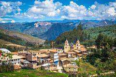 Macrabal Peru.  A very small quaint village.