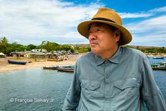 The Missionary (Francois Saikaly Jr) Tags: blue tanzania portrait person korean africa volunteer medical lake victoria village boats clouds homes trees boat 탄자니아 아프리카 아프리카여행 인물사진 마을 배 호수 빅토리아호수 선교사 구름 나무