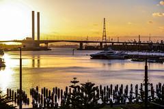 Bolte Bridge (sai_photosnaps) Tags: melbourne boltebridge yarra river sunset dusk
