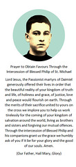 Blessed Philip of St. Michael holy Card (CatholicArtist) Tags: felipe ruiz fraile perazancas ojeda daimiel passionist pasionistas passionisti beato filippo philip michael san miguel michele philippe bienheureux martire martir martyr catholic young lay brother