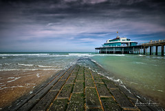 Blankenberge Pier V (Alec Lux) Tags: hdr hdrphotography beach belgium blankenberge breakwater clouds groyne landscape landscapephotography nature naturephotography ocean pier pontoon scenic sea seascape seascapephotography sky water waves