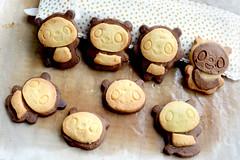 Panda Cookies (MelindaChan ^..^) Tags: panda cookies homemade chanmelmel mel melinda melindachan dessert bake