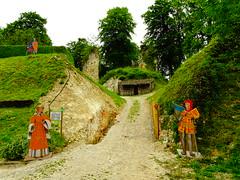 Ruines du château de Fressin